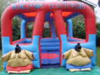 SA01 Sumo Arena With Sumo Suits